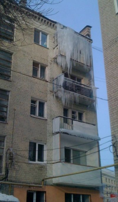 Russian icicle